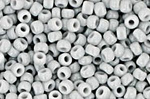 Opaque Grey Toho Round Seed Beads