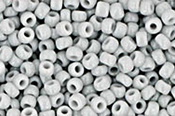 Opaque Grey Toho Round Seed Beads