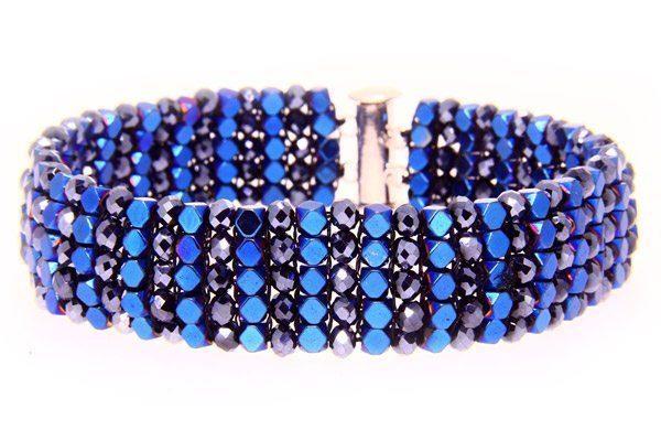 Midnight Blue Manhattan Bracelet