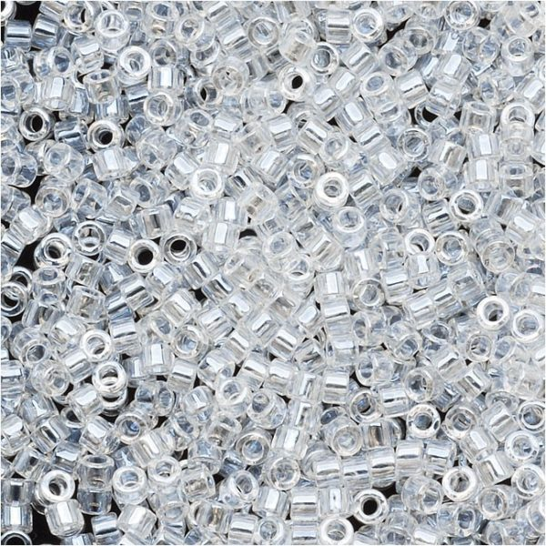 Crystal Luster Delica Beads