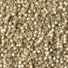 Galvanized Matte Silver DuraCoat Delica Beads