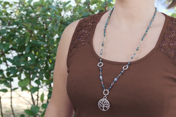Tree of Life Necklace and Bracelet Kit