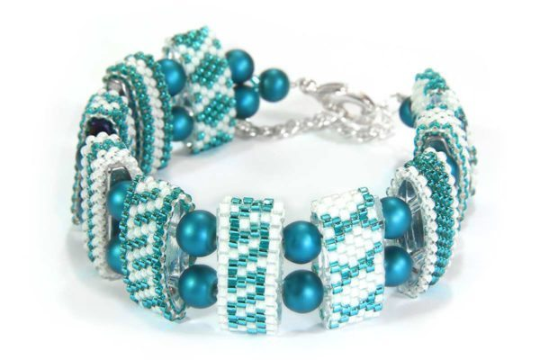 Emerald Sea Riviera Carrier Bead Bracelet