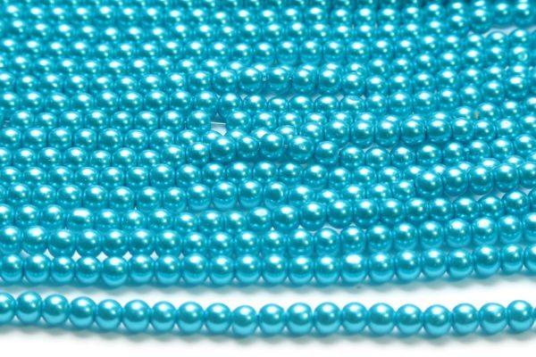 Light Amethyst Glass Pearls