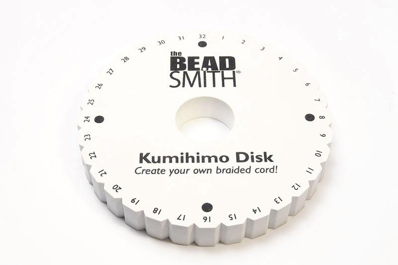 Comfort Grip Kumihimo Disc 6x3/4in   Bead Spider
