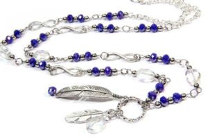 neptune serenity feather necklace bracelet and earringa
