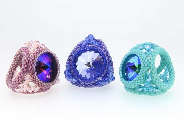 Scarf and Sarong Accessory Ring Pattern
