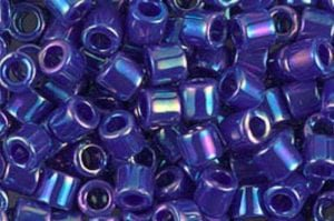 Opaque Royal Blue Delica Beads