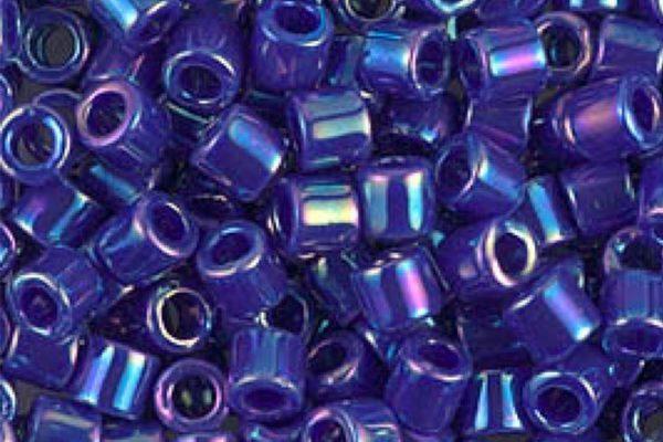 Opaque Royal Blue Delica Beads