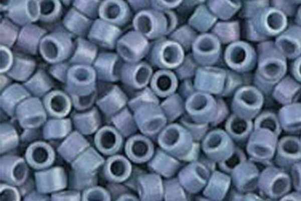 Opaque Blueberry Luster Delica Beads