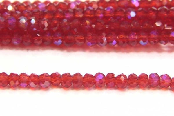Sapphire Coated Ruby Size 11 Micro Crystals