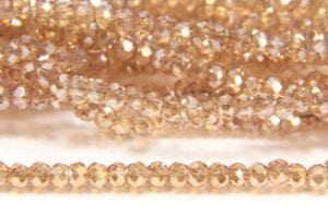 Champagne Lustre Size 11 Micro Crystals