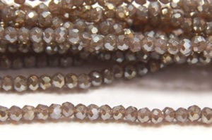 Sepia Lustre Size 11 Micro Crystals