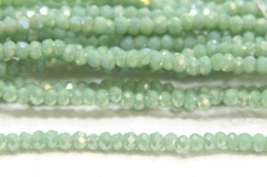 Opaque Sea Opal AB Size 11 Micro Crystals