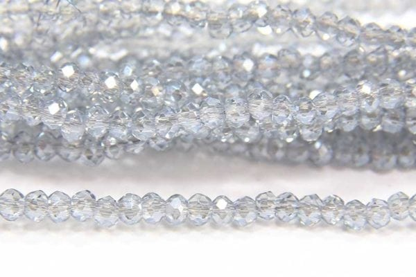 Dusty Blue Lustre Size 11 Micro Crystals