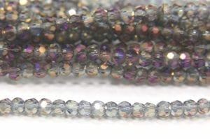 Violet Rainbow AB Size 11 Micro Crystals