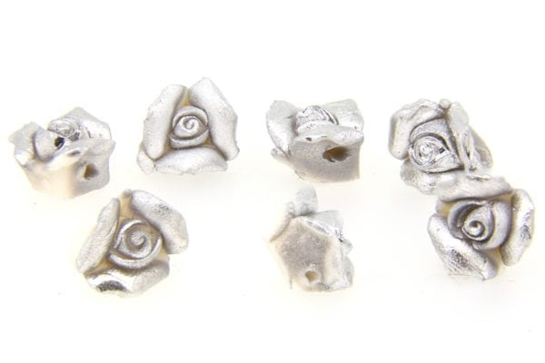 Silver White Flowers