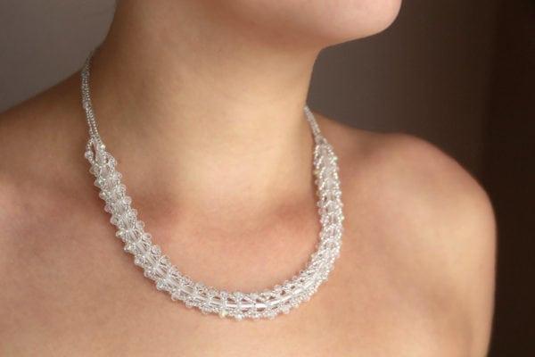 Sparkling Crystal Entice Necklace