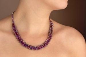 Mysterious Purple Entice Necklace
