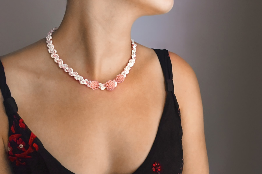 Coral Sea Secret Garden Necklace Video
