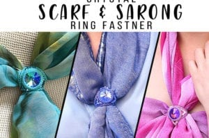 October 2nd Crystal Scarf Ring Tutorial Products