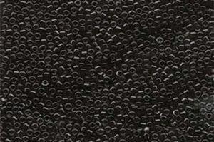 Opaque Black Delica Beads