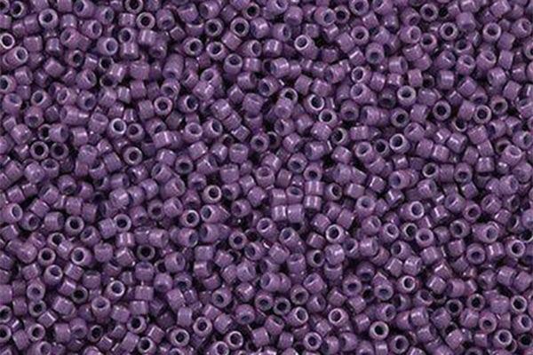 Opaque Lavender Delica Beads