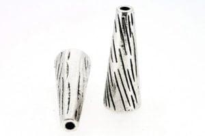 Large Striped Tassel Cone