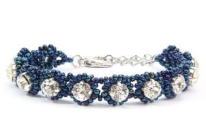 River Blue Crystal Tiffany Bracelet