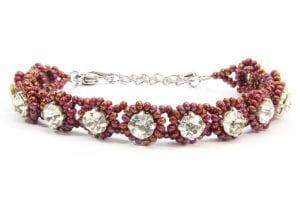 Sienna Crystal Tiffany Bracelet