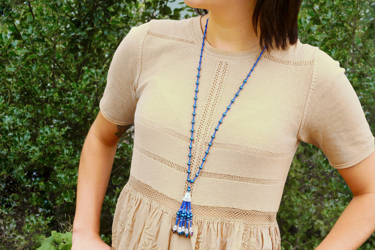Gatsby Necklace Tutorial Video