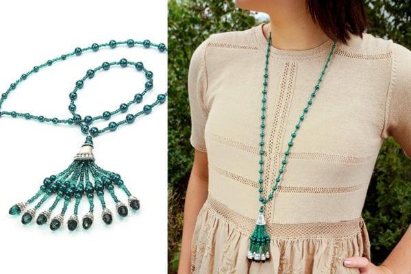 Emerald Gatsby Tassel