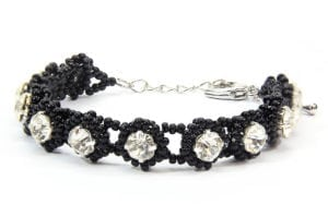 Noir Crystal Tiffany Bracelet