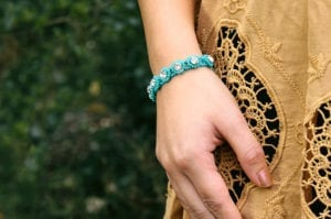 Turquoise Crystal Tiffany Bracelet Video