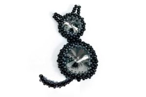 October 16th Crystal Kitty Cat Brooch Tutorial Products