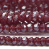 Cranberry Size 11 Micro Crystals