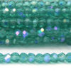 Sapphire Coated Teal Size 11 Micro Crystals