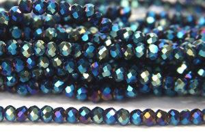 Metallic Poseidon Size 11 Micro Crystals