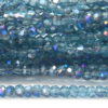 Teal Peacock Size 11 Micro Crystals