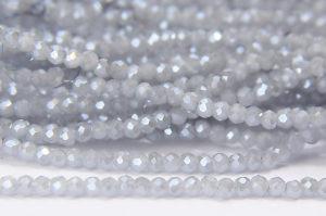 Dove Grey Size 11 Micro Crystals