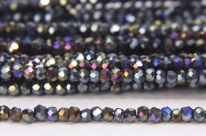Rainbow Coated Hematite Size 11 Micro Crystals