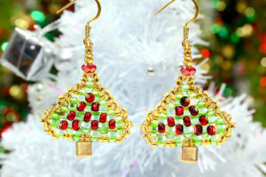 December 4th Christmas Earring Tutorial Products