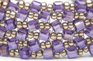 June 27th - Flat Herringbone Crystal Bracelet Tutorial Products