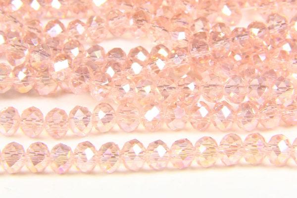 Pink AB Crystal Donuts