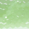 Frosted Apple Green Crystal Bicones