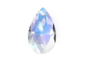 Crystal AB Teardrop Crystal Pendant