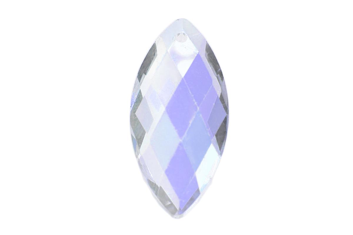 Crystal AB Diamond Drop Crystal Pendant