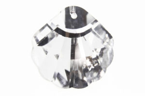 Crystal Clear Shell Crystal Pendant