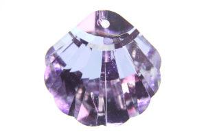 Shining Amethyst Shell Crystal Pendant