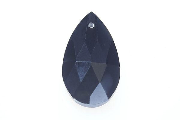 Midnight Blue Teardrop Crystal Pendant